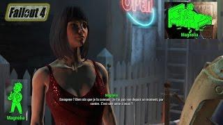 Fallout 4: étreinte amoureuse avec Magnolia à Goodneighbor