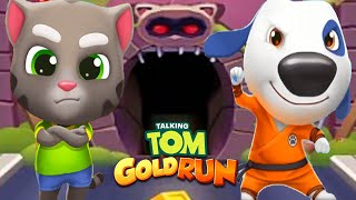 Talking Tom Gold Run - TALKING TOM & KUNG FU HANK in All World Maps