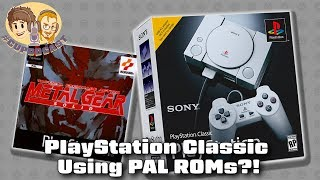 PlayStation Classic Uses PAL Games - WHY? #CUPodcast