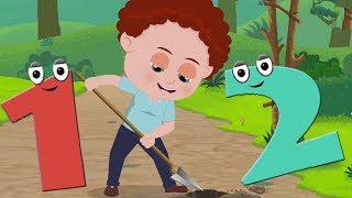 One Two Buckle My Shoe | Kinder reimen | Nummer Lied | Lieder für Kinder | Learn Numbers 1 to 20