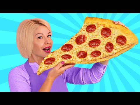 recette-de-pizza-géante-/-comment-sortir-la-pizza-de-la-hut-!