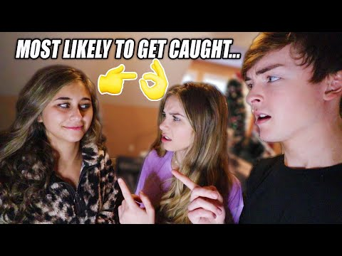 Asking Her TWIN SISTER Awkward Questions (EXPOSED)