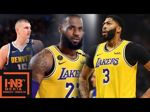 Nuggets vs Lakers Game 2 9.20.20 | Western Finals | Full Highlights