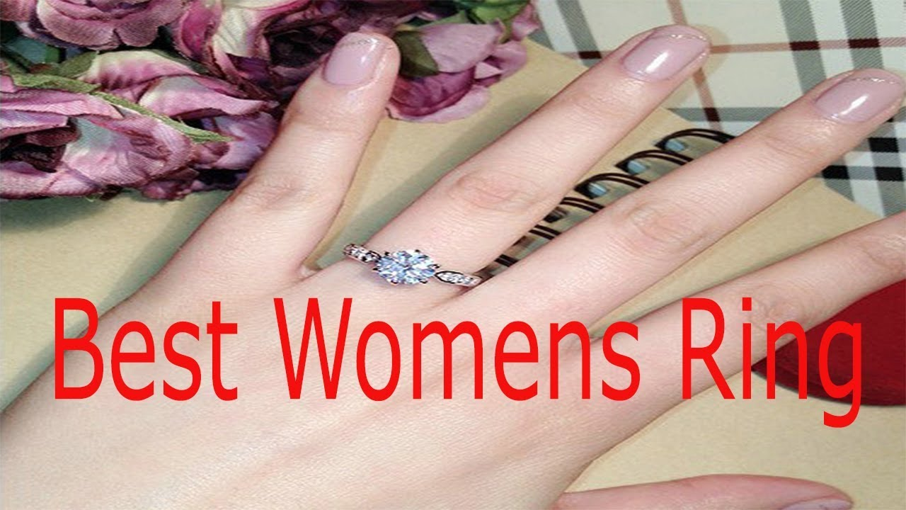 Women best engagement rings and wedding rings - USTAR rings - YouTube
