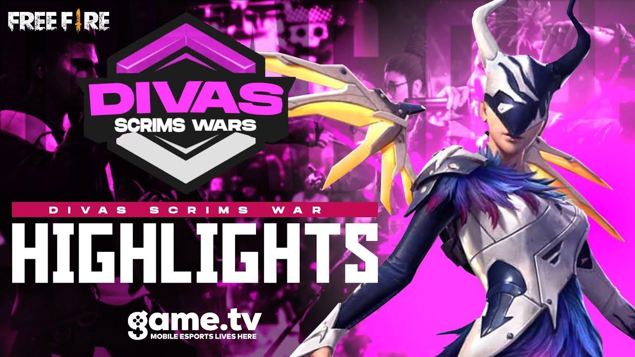 game.tv Divas Scrims War [ Highlights ] - Powered by game.tv | #1 Mobile Esports Platform