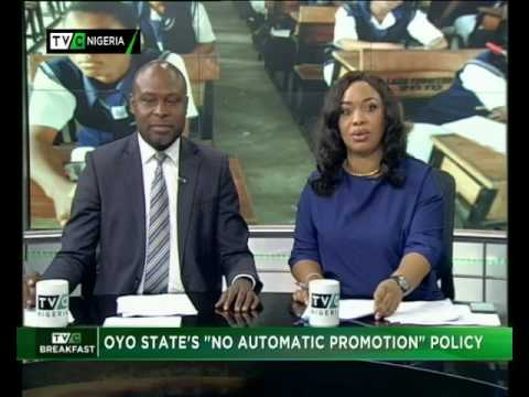"""Oyo State """"No Automatic Promotion"""" Policy"""