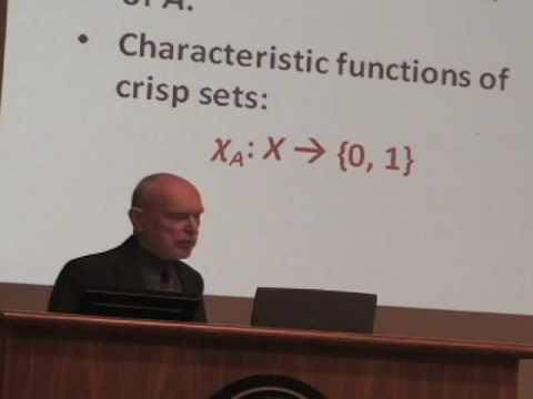 From Crisp Logic to Fuzzy Logic by George Klir - Workshop on Fuzzy Logic