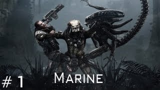 Aliens vs Predator - Walkthrough Marine Part 1