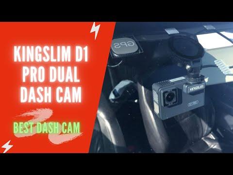 Kingslim D1 Pro Dual Dash Cam Review | Kingslim D1 Pro Installation | Kingslim D1 Pro Setup 2.5K/HD