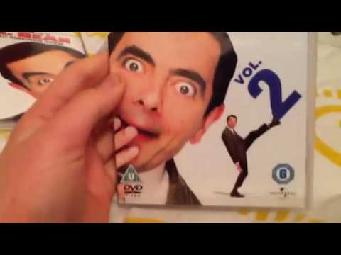 Unboxing Mr Bean 20th Anniversary Edition Dvd Box Set Youtube