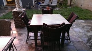 Elegant Dining Room Extension Table Made From Reclaimed Wood