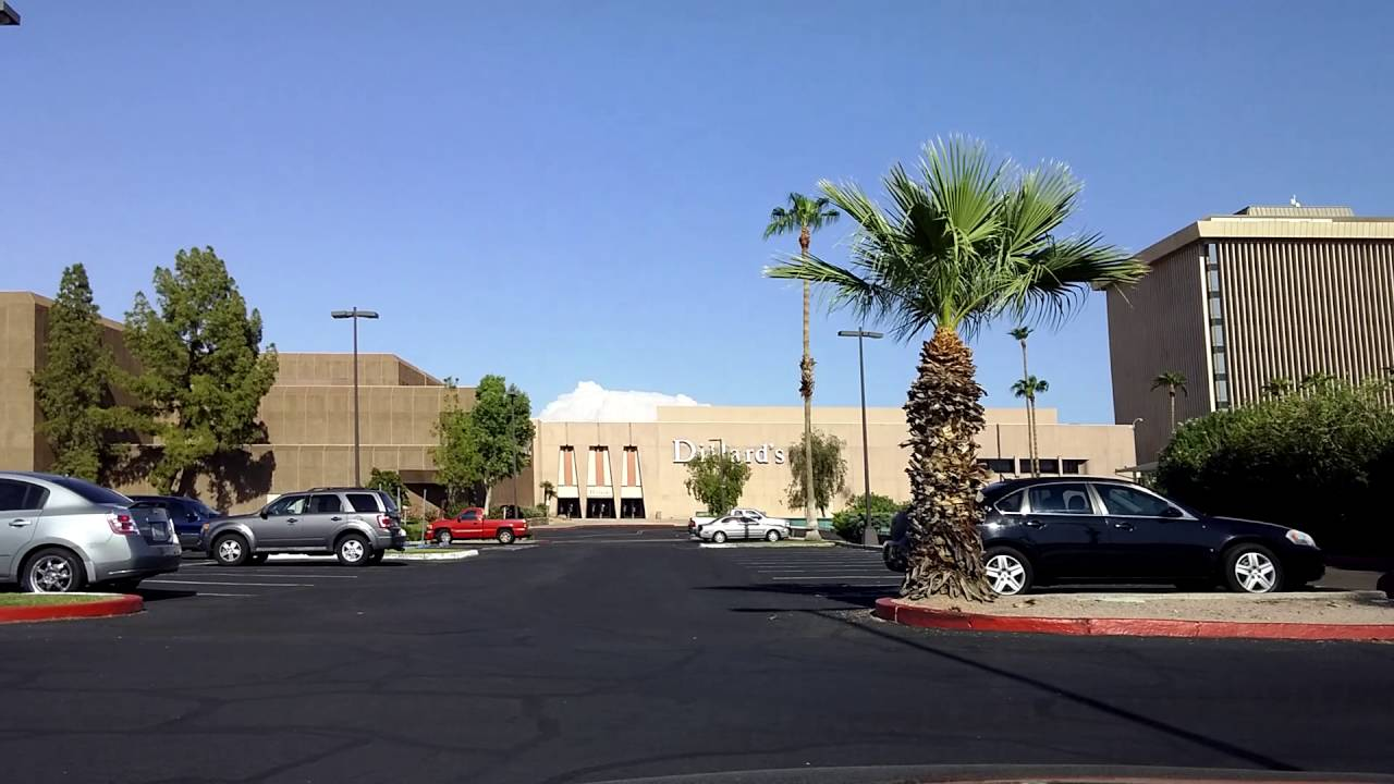 Remnants of a Lost Mall: Camelview Plaza