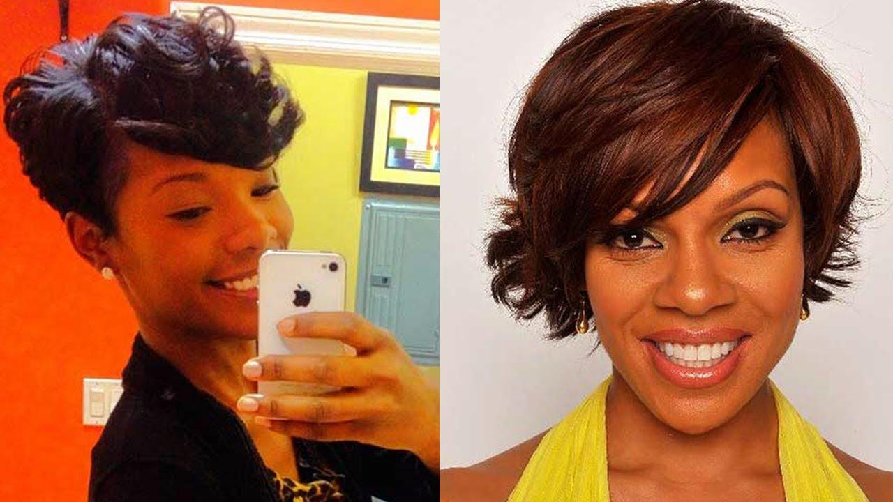 Beautiful Short Natural Haircuts For Black Women