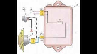 видео Инжектор схема электрооборудования ВАЗ 21099