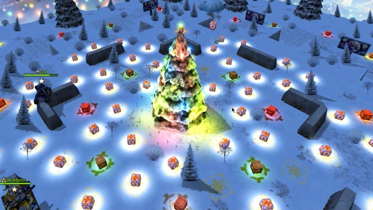 Tanki Online Christmas Bundle 2020 Tanki Online   Christmas Map Full With Golds   Tanki Happy New