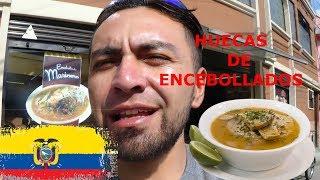 EL QUITEÑO- HUECAS DE ENCEBOLLADOS- PRECIOS-ATENCIÓN-PRIMERA PARTE