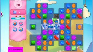 Candy Crush Saga Level 2876 16 moves NO BOOSTERS Cookie