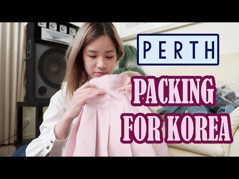 Packing for KOREA | Last Day in Perth | Kim Dao