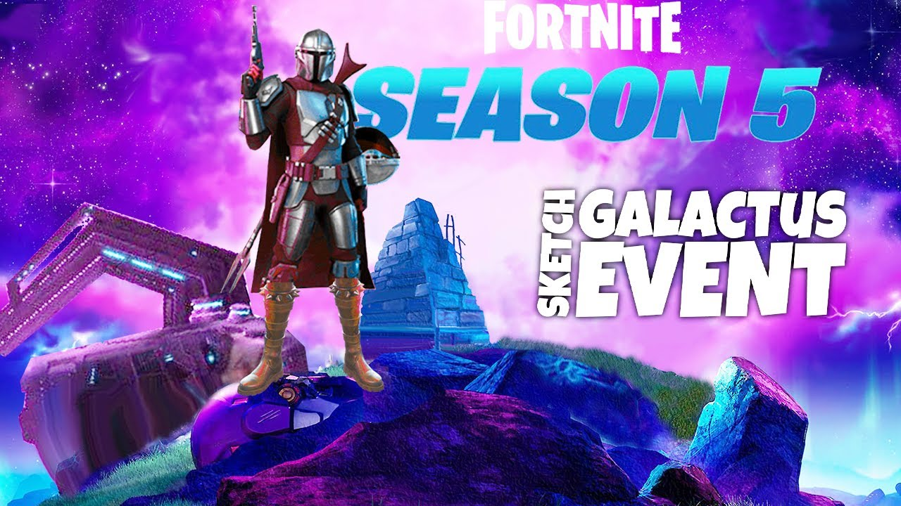 Fortnite Galactus Event (Nexus War) & Season 5 - I've already thought of everything!.. (no spoilers)
