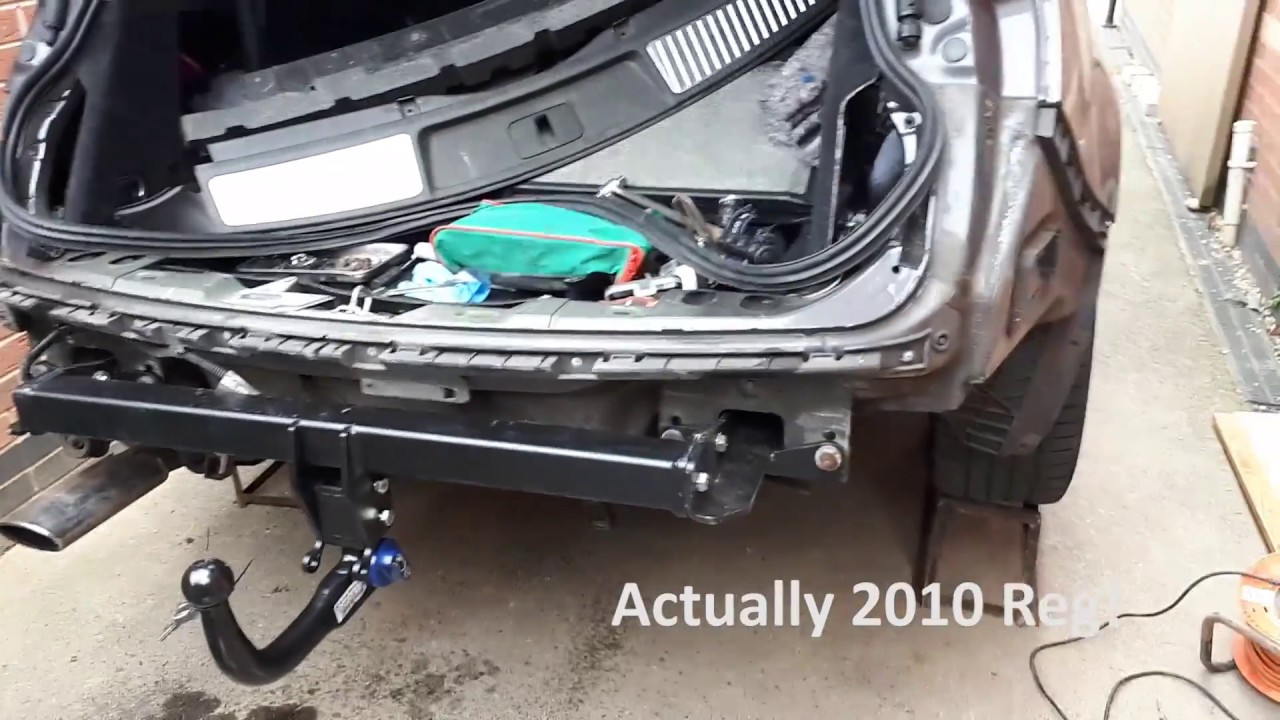 how to fit a towbar to a vauxhall opel insignia tourer estate youtube rh youtube com vauxhall combo tow bar wiring diagram vauxhall combo tow bar wiring  [ 1280 x 720 Pixel ]
