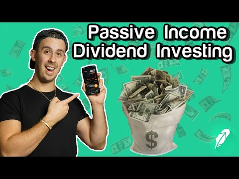 Making Passive Income Divdiend Investing With Robinhood App