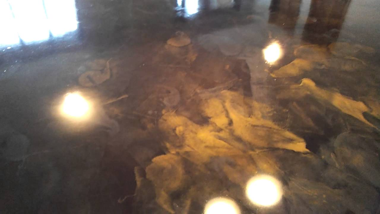 rocksolid custom concrete metallic epoxy floor youtube