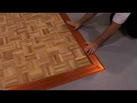 4m X 4m Portable Dance Floor Youtube