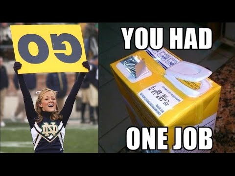 """You Had One Job""!!! Fail Compilation and memes - YouTube"