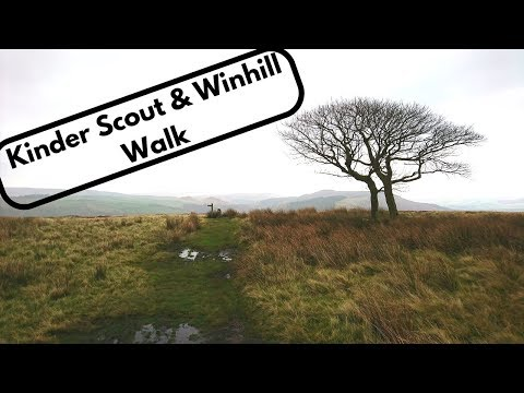 Kinder Scout to Winhill Walk   Peak District
