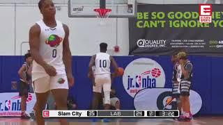 Team LAB vs Slam City - Jr NBA World Championship - Marvin Guthrie - Coach Dayal