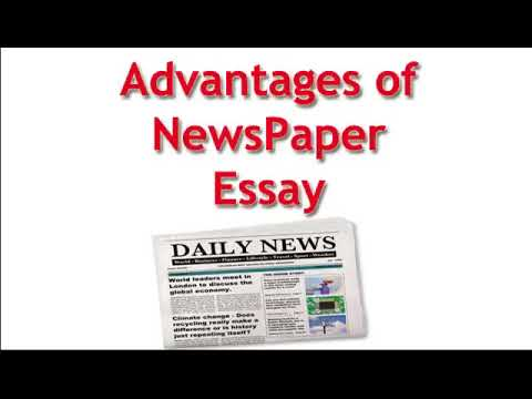 essay on advantages of newspaper english essay for class   essay on advantages of newspaper english essay for class  and