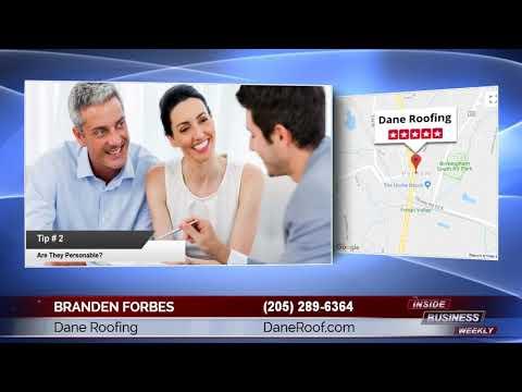 Dane Roofing Pelham  AL Dane Roofing | Branden Forbes Of Dane Roofing Pelham  AL