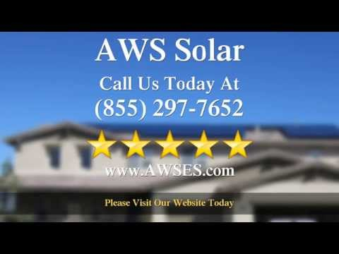 AWS Solar Los Angeles Wonderful Five Star Review (855)-297-7652