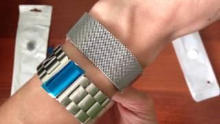 Розпакування посилка з Китаю №31. Apple Watch ремінці