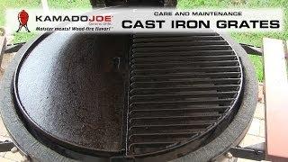 Kamado Joe Cast Iron Care & Maintenance