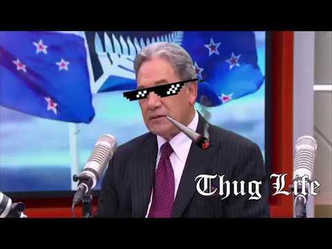 Winston Peters Thug life 01
