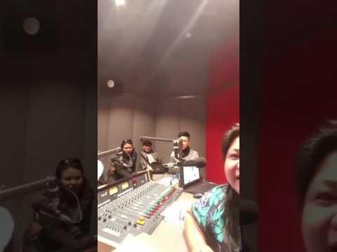 Darren Espanto Live on Hoy Pinoy 92.3 FM, Melbourne Ethnic Community Radio (05-31-2017)
