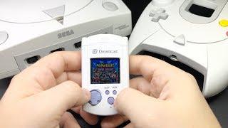 VM    RetroPie Gaming Handheld Inside a Sega Dreamcast VMU