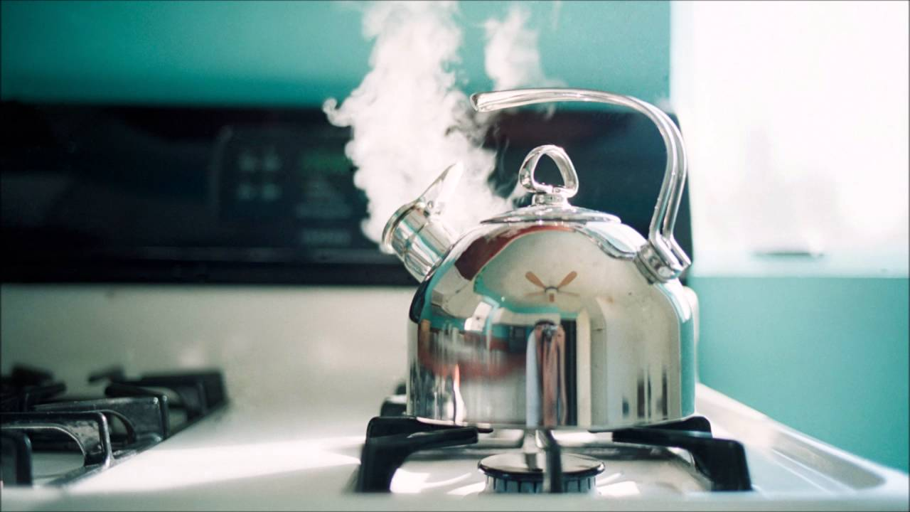 Teapot Whistling Sound Effect Tea Kettle Boiling Steam Whistle 10Min SFX  Steaming Water Noise