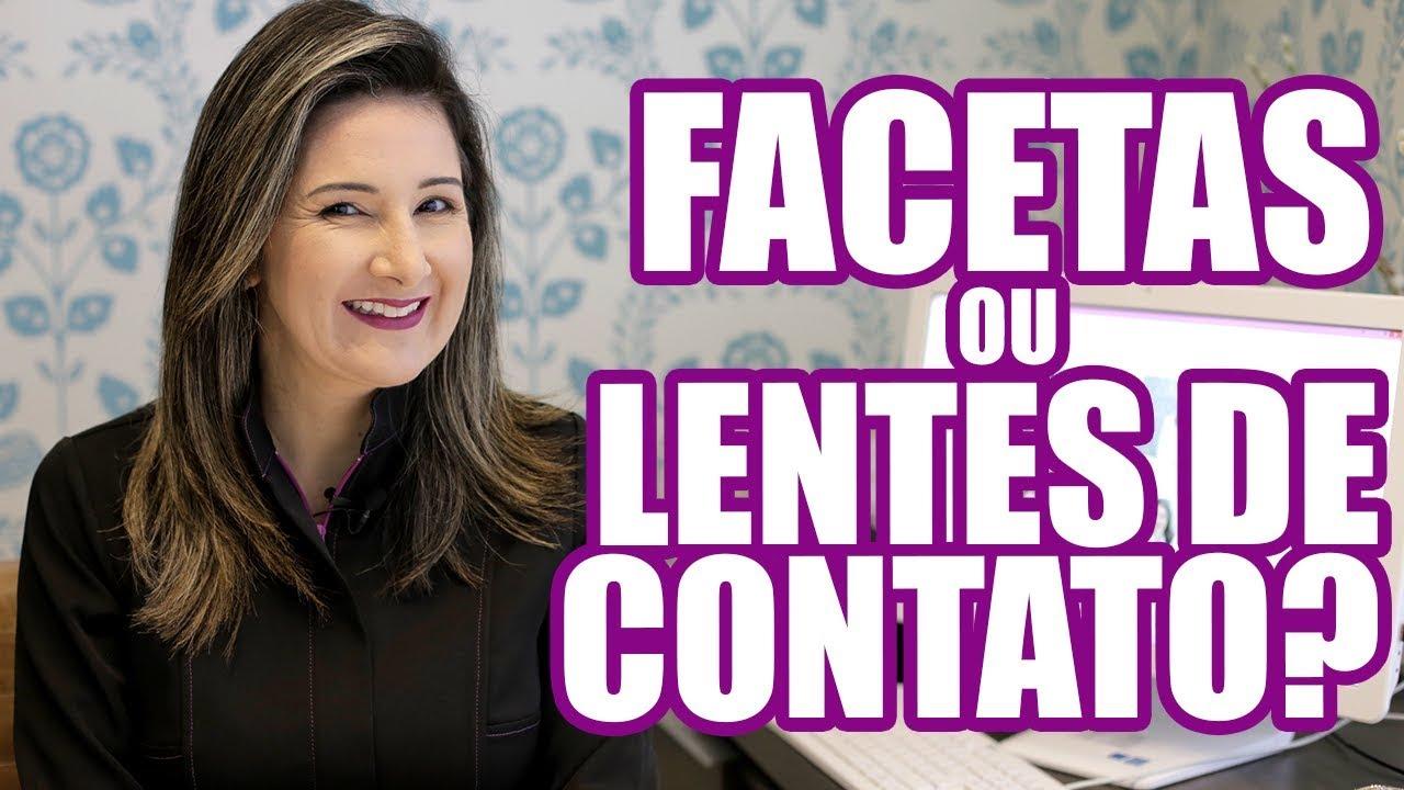 """QUAL A DIFERENÇA ENTRE FACETA E """"LENTE DE CONTATO DENTAL""""."""