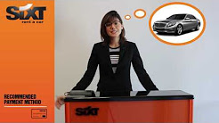 Sixt Credit and Debit Card Procedures