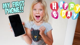 HAPPY BIRTHDAY RORY!! SHE GETS THE NEW iPHONE 11!!