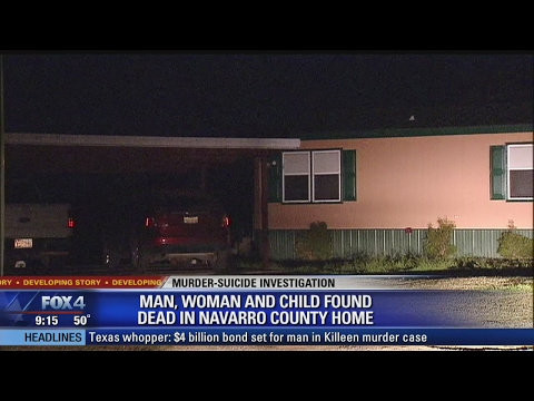 Navarro County Double Murder Suicide