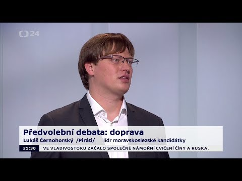 2. předvolební debata 2017 - Lukáš Černohorský (sestřih vystoupení)