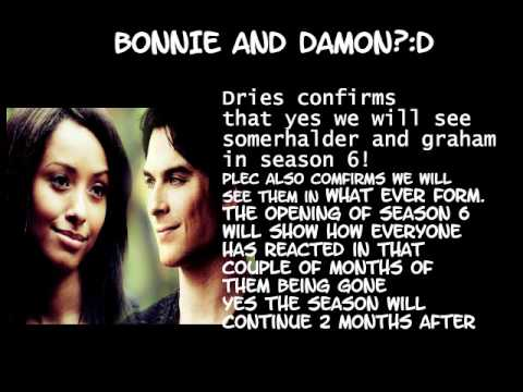 the vampire diaries season 6 spoilers youtube