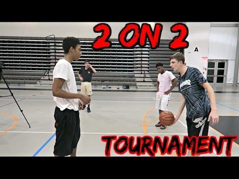 INSANE 2 on 2 Basketball TOURNAMENT!