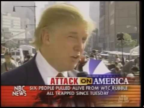 Donald Trump interview 2 days after 9/11 at ground zero