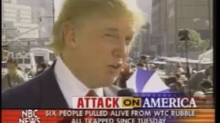 Video Donald Trump interview 2 days after 9/11 at ground zero download MP3, 3GP, MP4, WEBM, AVI, FLV November 2017