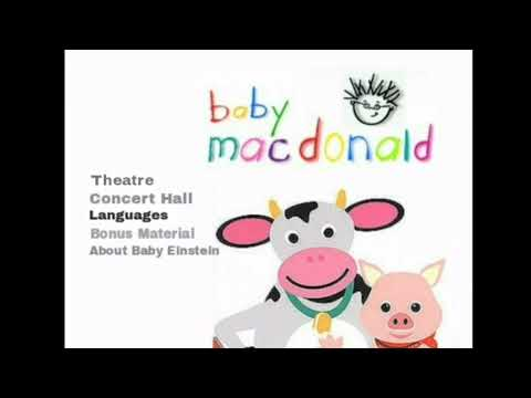 Baby MacDonald 2002 DVD Menu