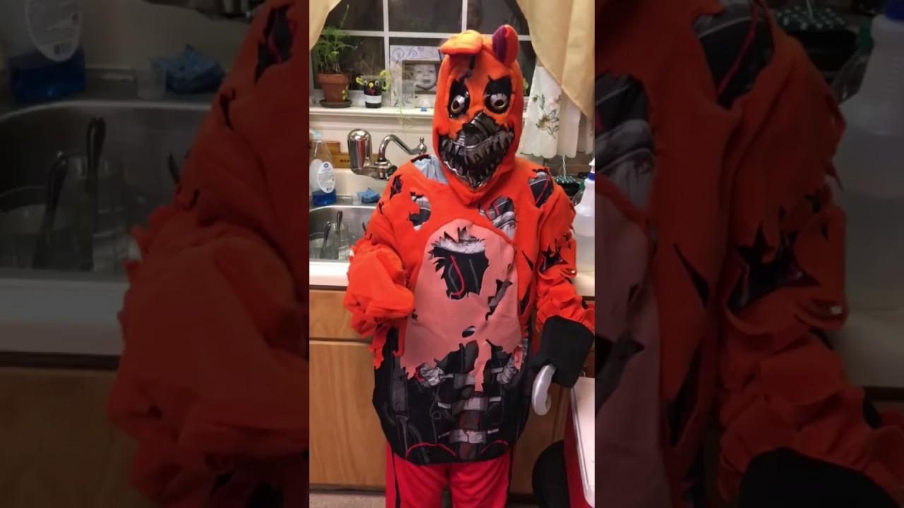 Nightmare Foxy Costume Youtube